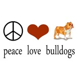 Peace Love Bulldogs