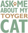 Toyger Cat Breed Merchandise