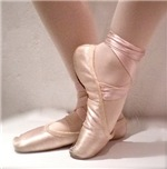 Ballerina Ballet Dancer Pink Pointe Toe Sho