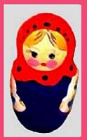 Russian Babushka Stacking Dolls