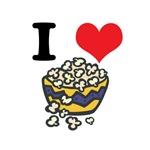 I Heart (Love) Popcorn