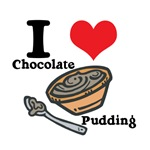 I Heart (Love) Chocolate Pudding