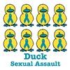 Sexual Assault Awareness Ribbon Ducks