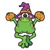 Cute Witchy Frog