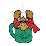 Cute Moose in a Mug