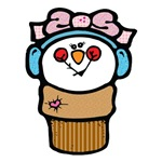 Cute Little Girl Snow Cone