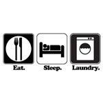 Eat. Sleep. Laundry.