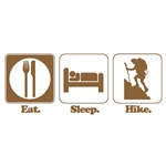 Eat. Sleep. Hike.