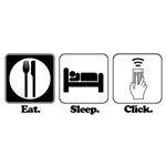 Eat. SLeep. CLick. (Remote Control)