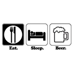 Eat. Sleep. Beer.