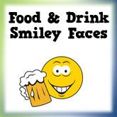 Food & Drink Smiley Designs
