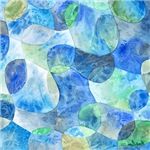 Aquatic Abstract Watercolor