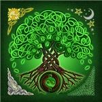 Circle Celtic Tree of Life Design ©Kristen N. Fox