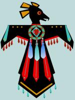 Native American Bird design