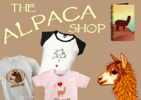 alpacas! t-shirts & gifts for alpaca & llama lover