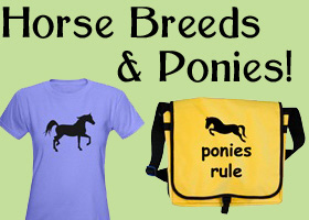 Horse Breed-Specific & Pony T-shirts & Gifts