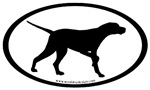 Pointer Dog Oval