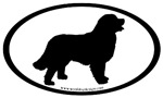 Bernese Mountain Dog Oval