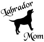 Labrador Mom w/ Silhouette