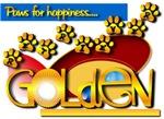 PAWS FOR HAPINESS...GOLDEN RETRIEVER