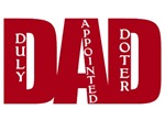 DAD Acronym (Duly Appointed Doter) BIG RED