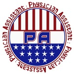 PA(Physician Assistant) USA PATRIOTIC