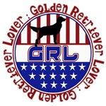 PATRIOTIC GRL- GOLDEN RETRIEVER LOVER!  USA PROUD!