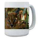 Caracal Lynx Mugs