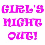 Girl's Night Out Bachelorette Party T-Shirts