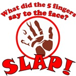 What did the 5 fingers say to the face? SLAP!