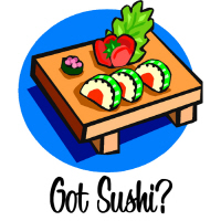 Got Sushi? T Shirts and Gifts for Sushi Lovers