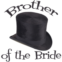 Top Hat Wedding Party Brother of the Bride