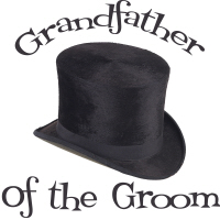 Top Hat Wedding Party Grandfather of the Groom