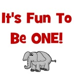It's Fun To Be One! w/ Elephant