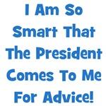 Presidential Advice - Blue