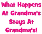 What Happens At Grandma's Pink