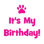 It's My Birthday - Pink Paw