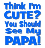 Think I'm Cute? Papa Blue