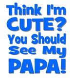 Think I'm Cute? Papa Blue