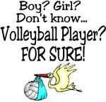 Volleyball Player for sure!