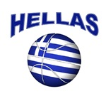 Hellas basketball tee shirts