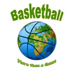 Basketball t-shirts earth