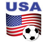 USA World Cup Flag t-shirt