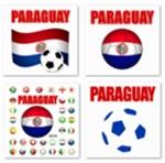 Paraguay Futbol T-Shirts