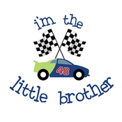 little brother race car