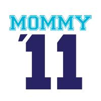 Mommy '11 t-shirts blue