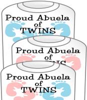 New Abuela Twin T-Shirt  Girls & Boys
