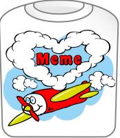 Love Meme Cute Airplane