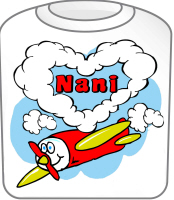Love Nani Cute Airplane