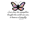Butterfly Inspirational T-Shirt